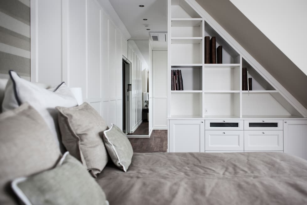 Wohnideen interior design einrichtungsideen bilder for Dachgeschosswohnung design