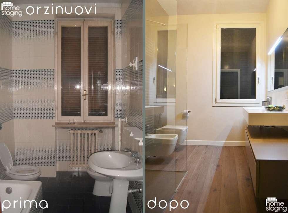 BAGNO: Bagno in stile in stile Moderno di LTAB/LAB STUDIO