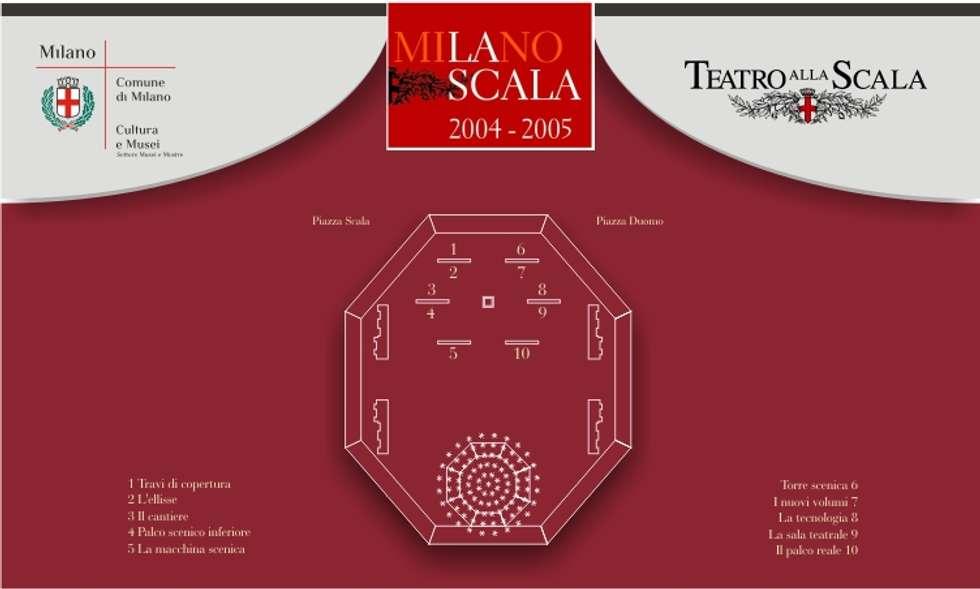 Teatro alla Scala - bettini design Bologna studio grafico: Spazi commerciali in stile  di bettini design