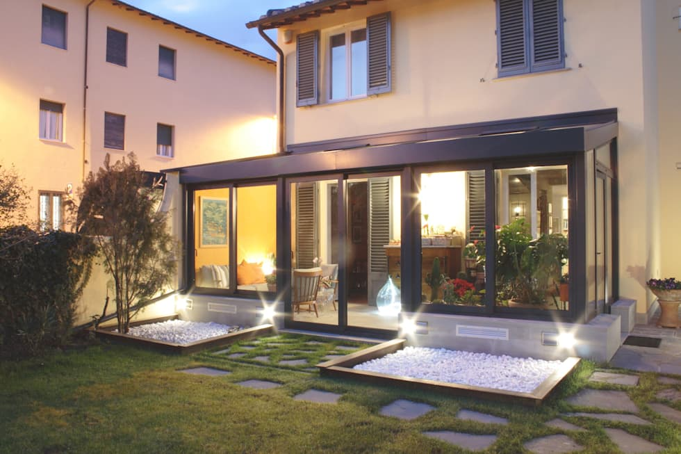 Idee arredamento casa interior design homify - Giardino di inverno ...