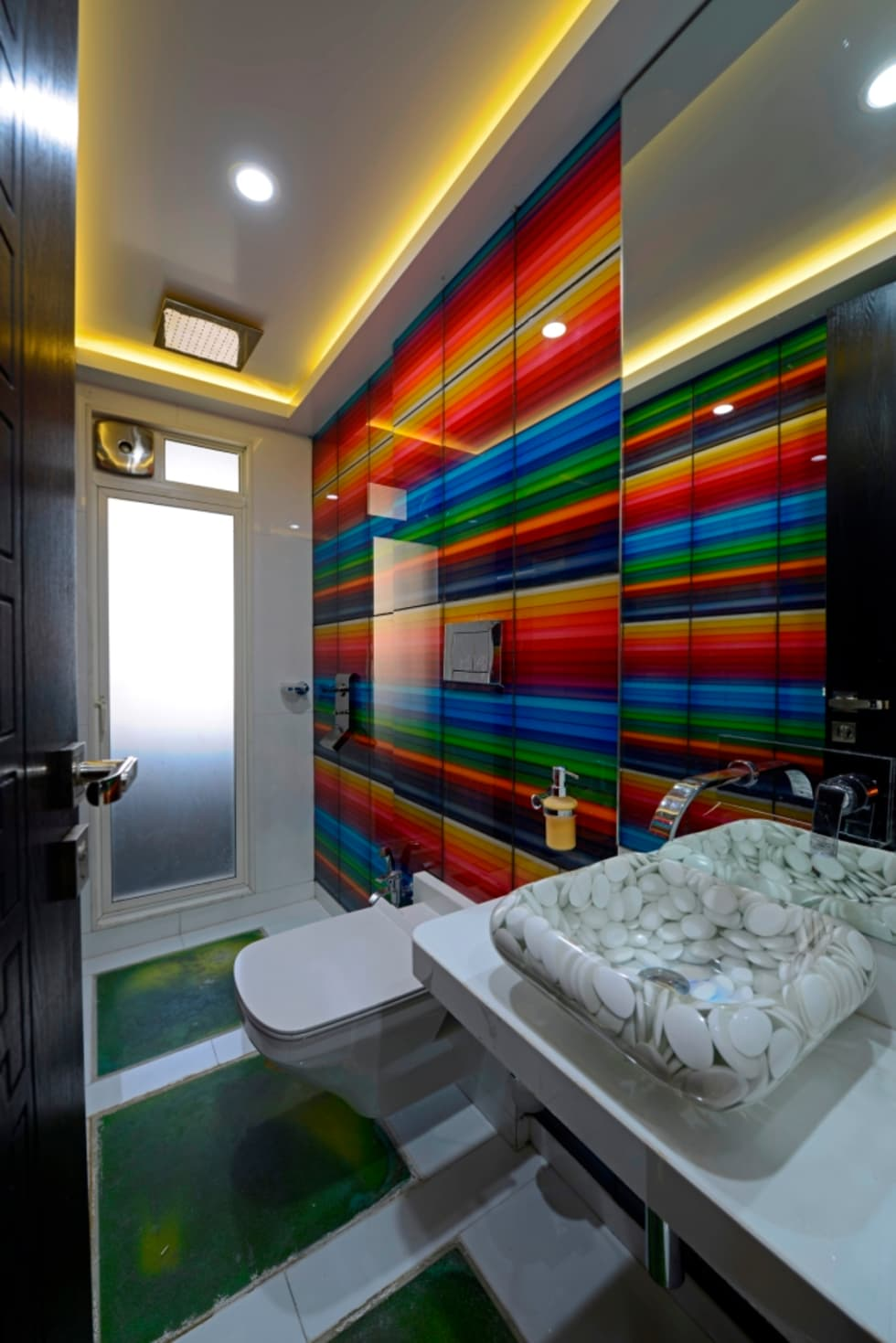 Interior design ideas inspiration pictures homify Bathroom designs for small flats in india