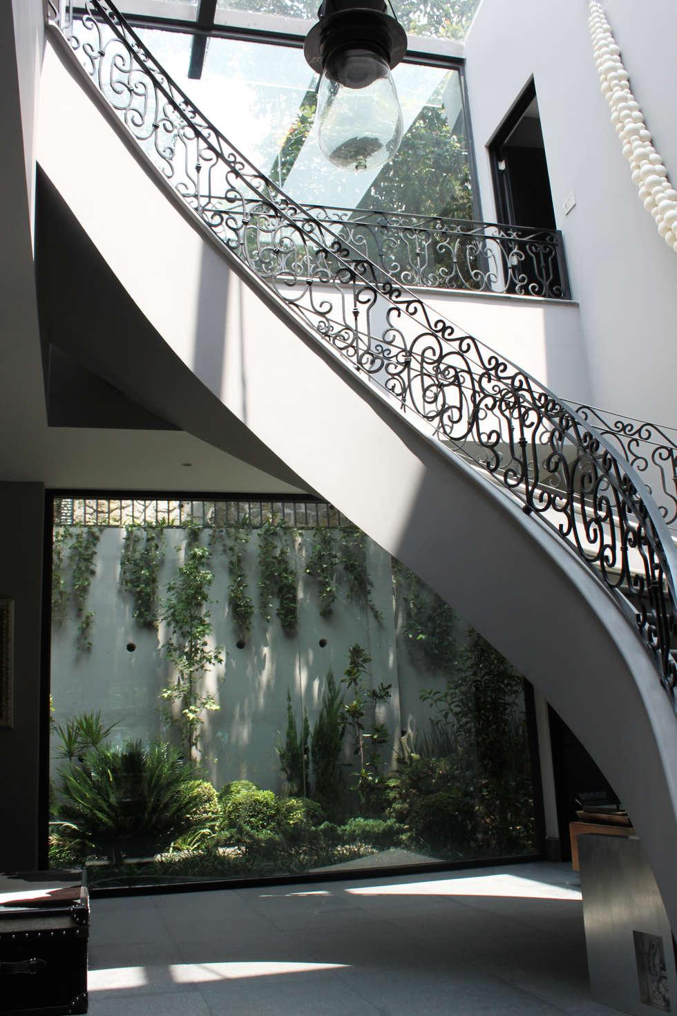 Entrada: Pasillos y recibidores de estilo  por Windlock - soluciones sustentables