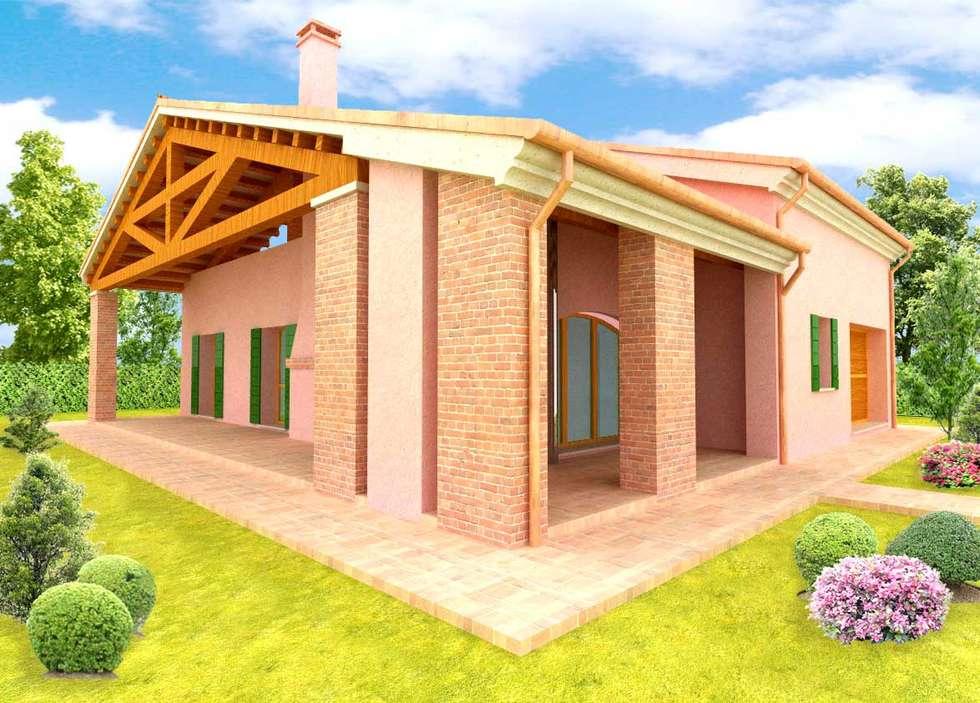 Casa Veneta: Case in stile In stile Country di architettiFAVARO