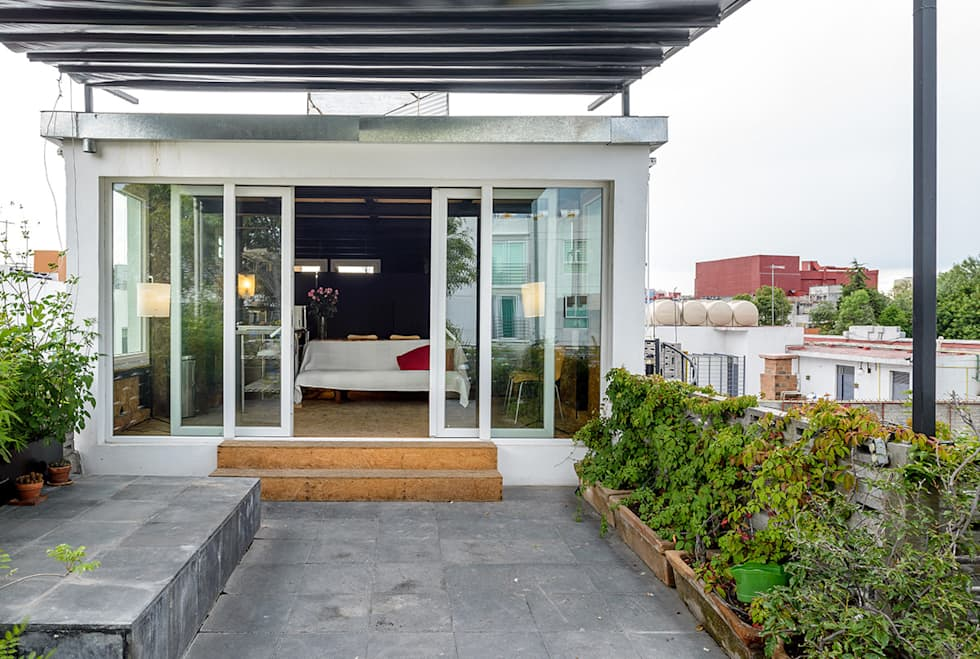 Terraza: Terrazas de estilo  por Windlock - soluciones sustentables