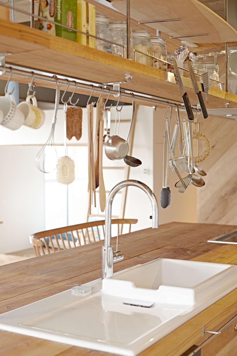 Cocinas de estilo industrial de .8 / TENHACHI
