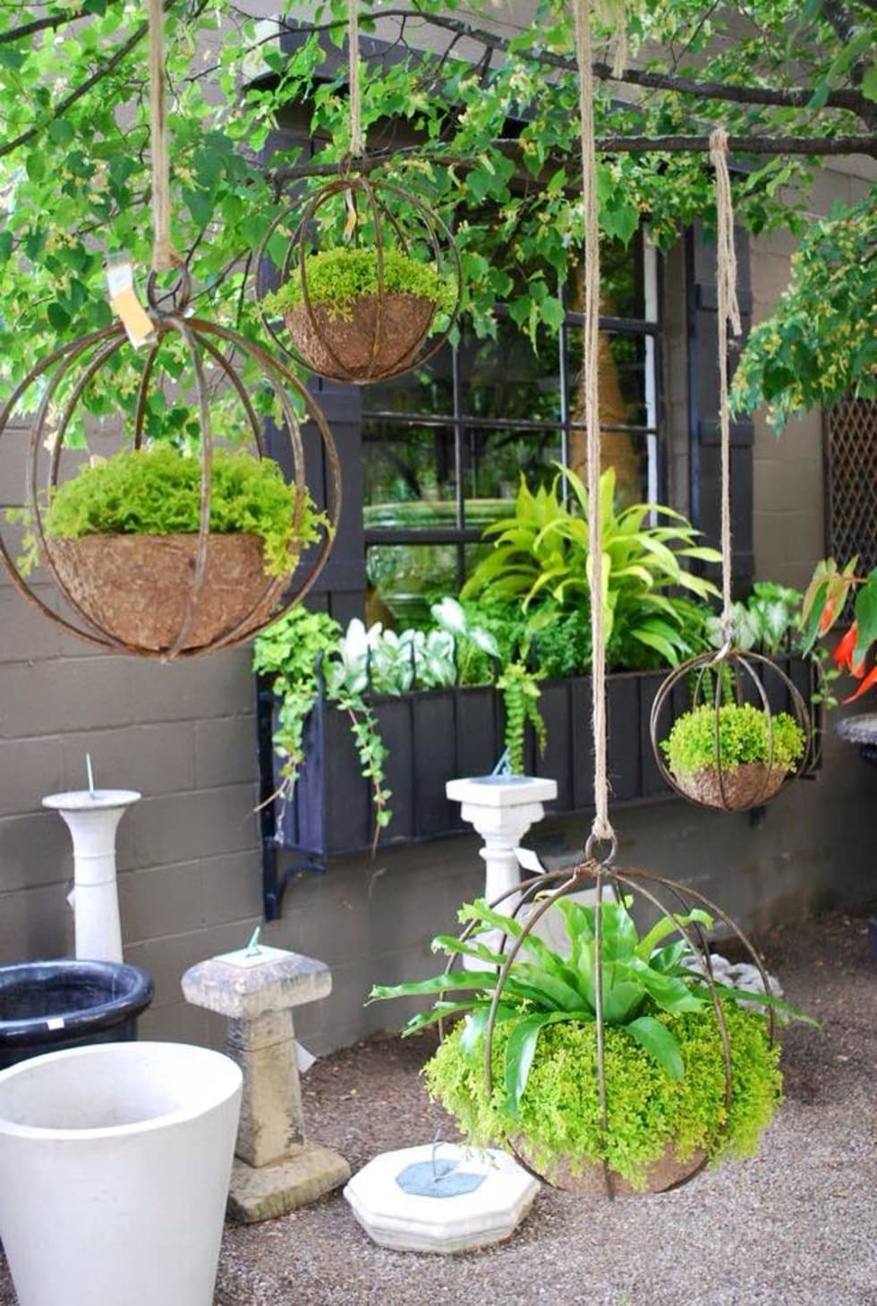 Jardín de estilo  de jardines verticales