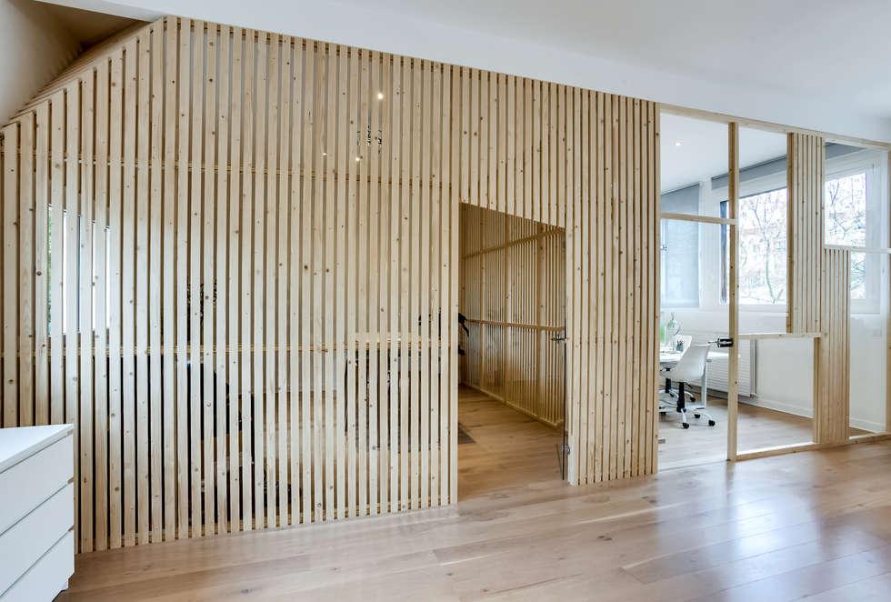 salle de réunion , PROJET VINCENNES, Agence Transition Interior Design: Bureaux de style  par Transition Interior Design