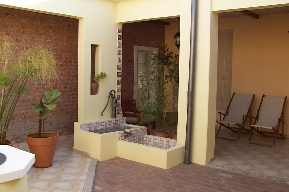 Fotos de jardines de estilo rústico : remodelaciÓn cocina ...