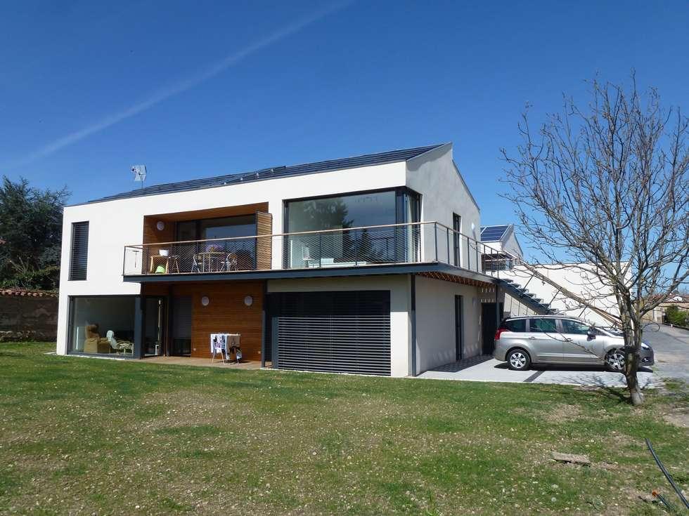 Phase 2: Maisons de style de style Moderne par archipente