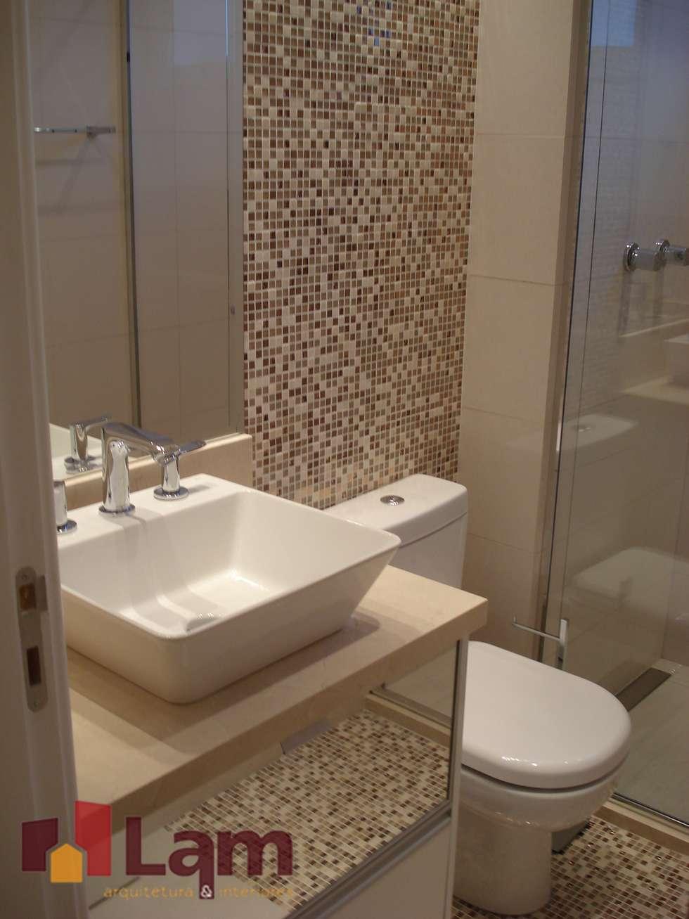 Fotos de banheiros modernos banheiro – obra  homify -> Meu Banheiro Moderno