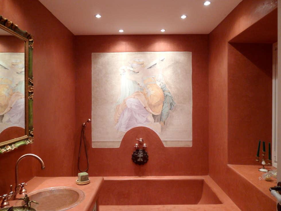 Decorazione ex-novo Sibilla: Bagno in stile in stile classico di Claudia Bambagioni