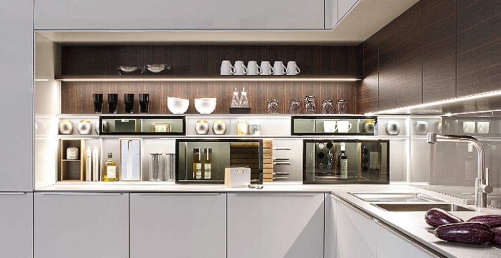 Produktauswahl: moderne Küche von byform productdesign
