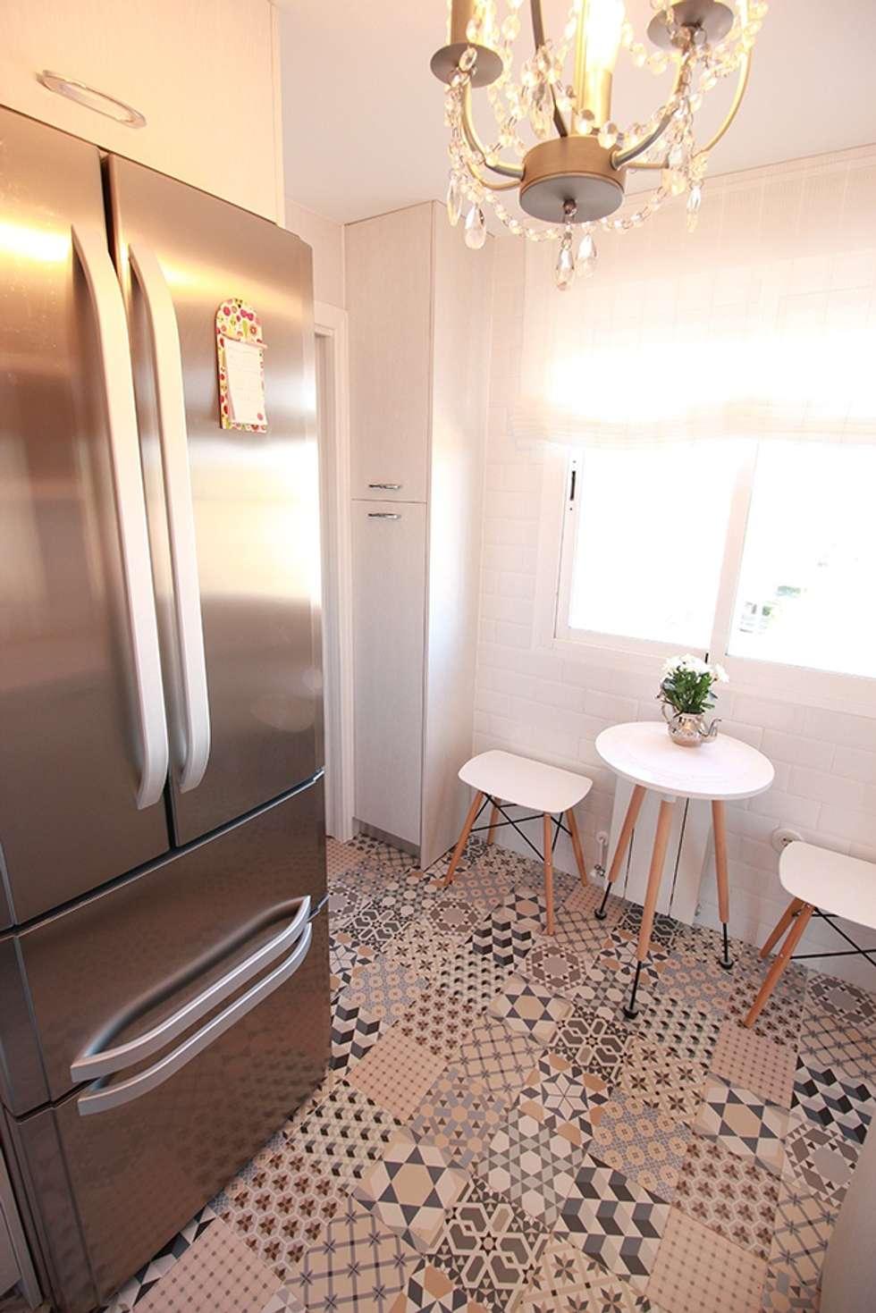 Fotos de decoraci n y dise o de interiores homify for Mesa redonda para cocina pequena