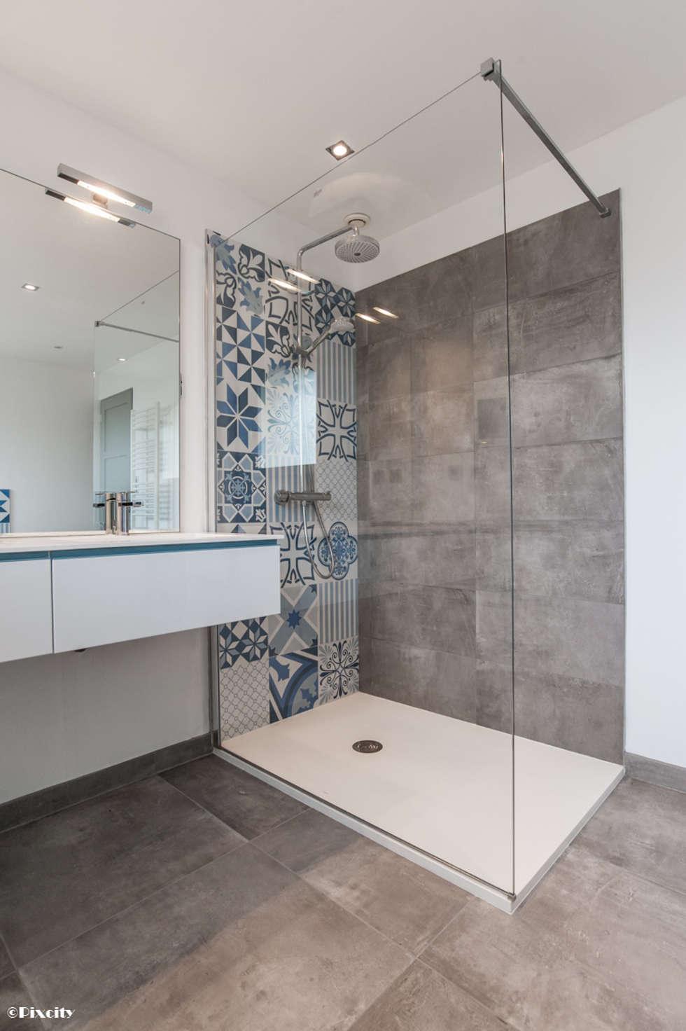 Photos de salle de bain de style de style moderne salle - Modifier salle de bain ...