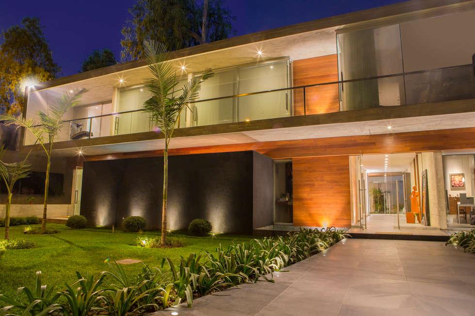 Vista Interior: Casas de estilo moderno por DLPS Arquitectos