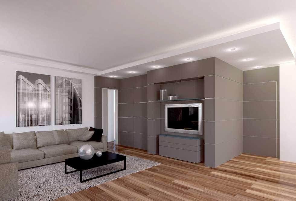 Progetto di interior design appartamento privato cuneo for Interior design appartamento moderno