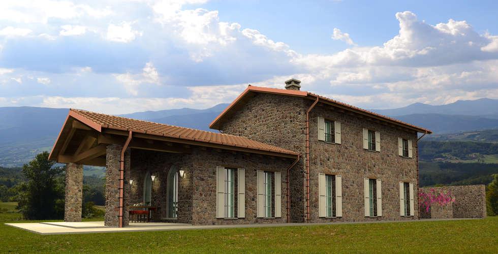 Idee arredamento casa interior design homify for Piani di una casa colonica avvolgono il portico