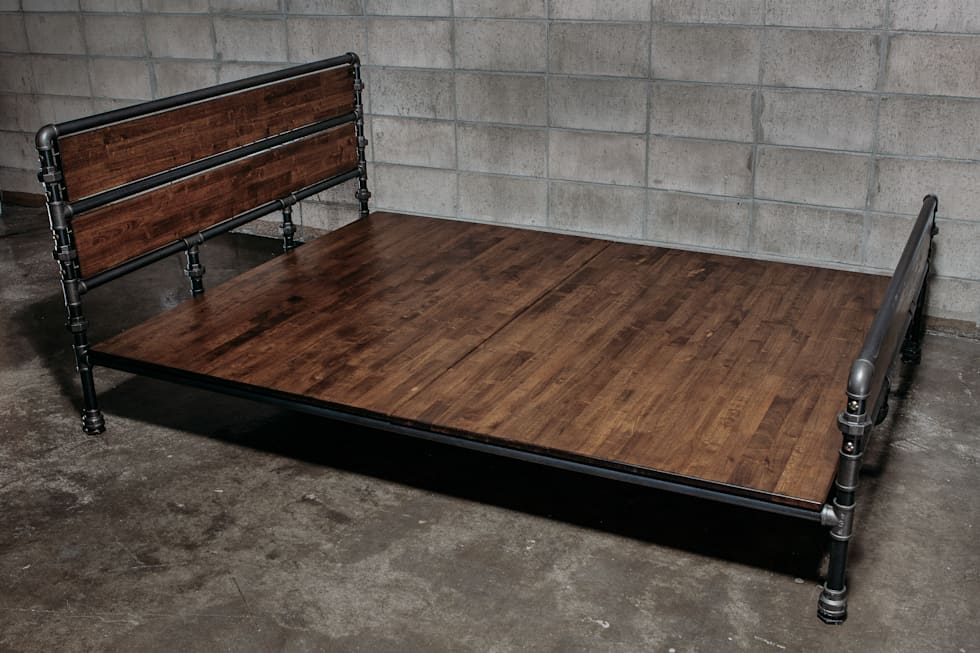 Pomys y na wn trza i zdj cia dekoraci wn trz homify for Como hacer una cama alta de madera