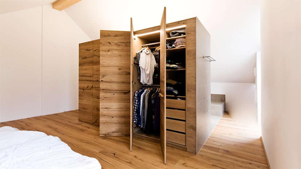 Einbauschränke Schlafzimmer wohnideen interior design einrichtungsideen bilder homify