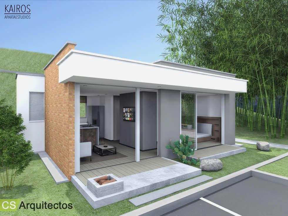 Casas minimalistas por cs arquitectos homify for Casa minimalista 4 dormitorios