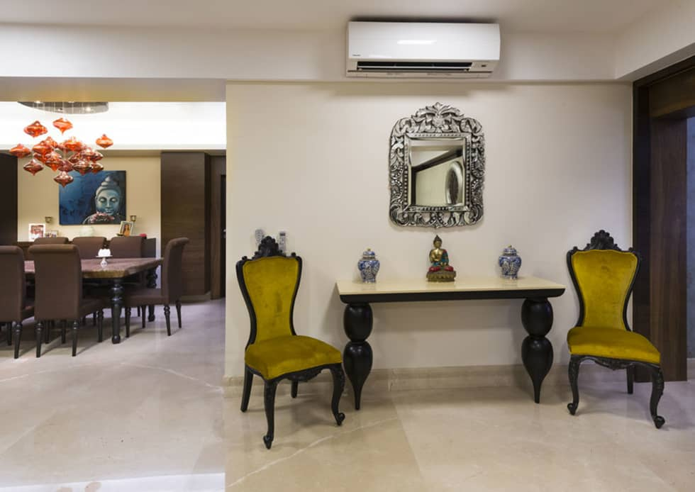 Agarwal Residence: modern Living room by Spaces and Design
