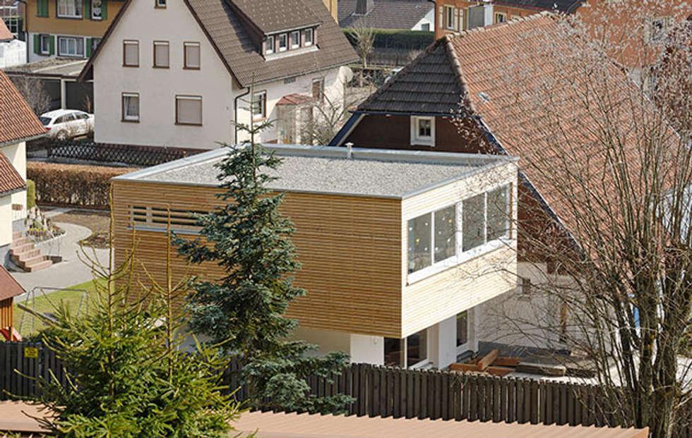 Moderne Häuser Bilder: Wohnhausanbau, Neubau einer Garage sowie ...