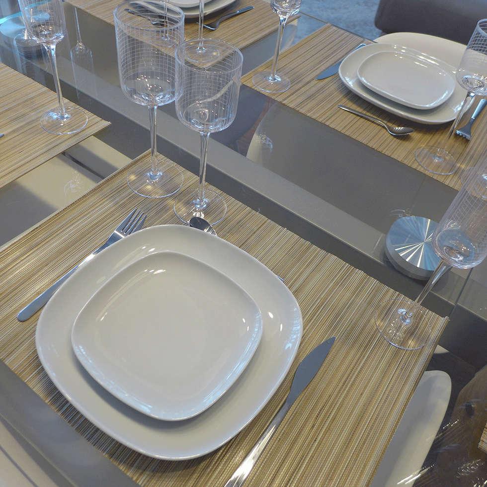 Une table bien dressée: Salle à manger de style de style Moderne par Skéa Designer