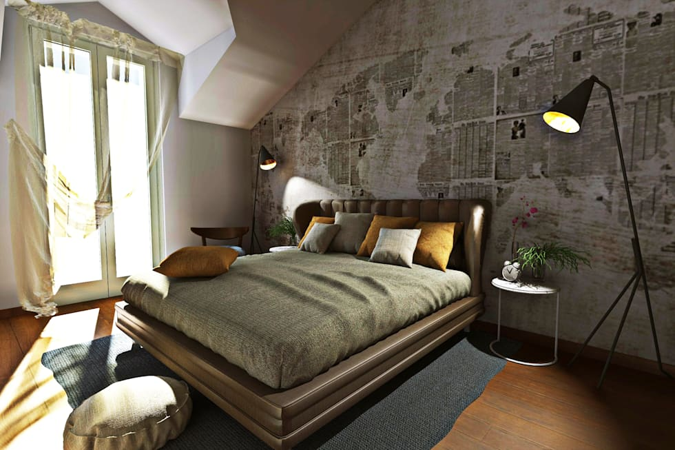 Idee arredamento casa interior design homify for Camera da letto grande