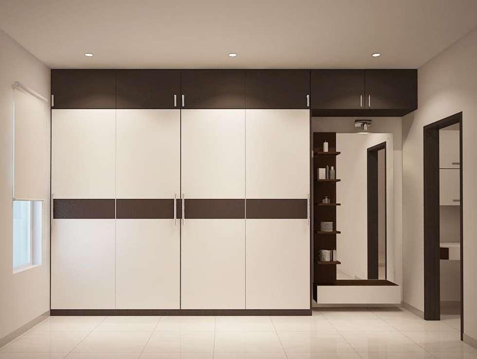 Interiors Design Furniture Mishawaka ~ Apartment at adarsh palm retreat modern bedroom by ace