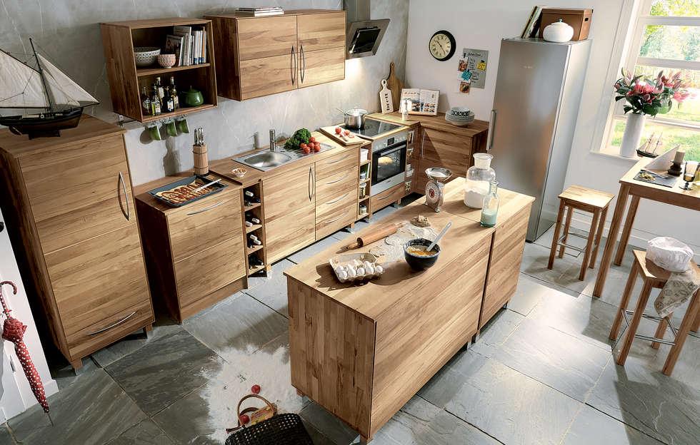 Küche culinara eiche moderne küche von allnatura