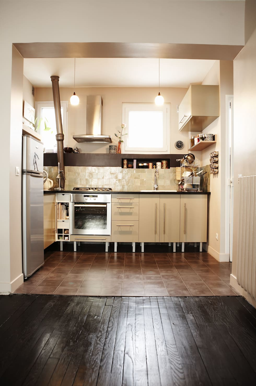zellige cuisine amazing information with zellige cuisine simple des zelliges verts dans une. Black Bedroom Furniture Sets. Home Design Ideas