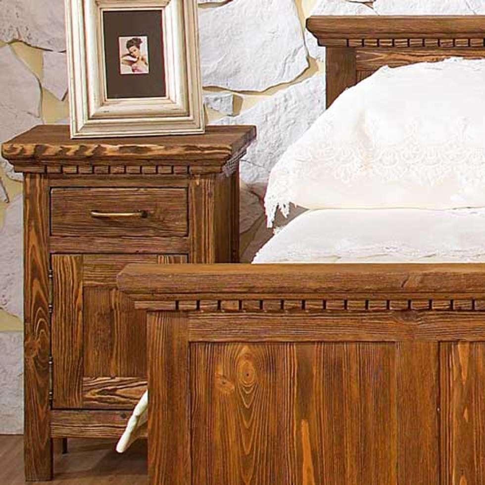 Nachtschrank | Holz U0026 Kiefer: Rustikale Schlafzimmer Von Massiv Aus Holz