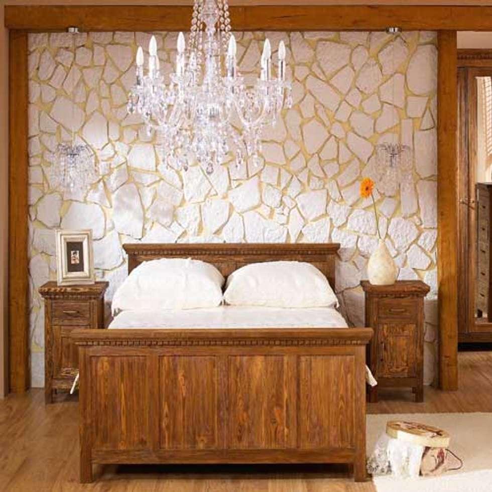 Nachttisch | Skandinavisch U0026 Rustikal: Skandinavische Schlafzimmer Von  Massiv Aus Holz