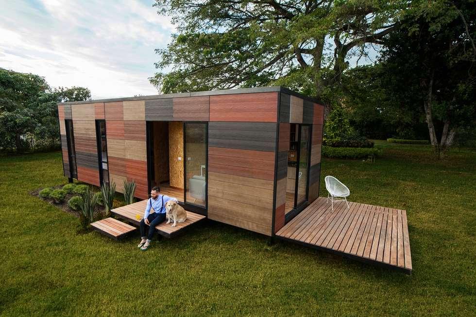 moderne Huizen door COLECTIVO CREATIVO