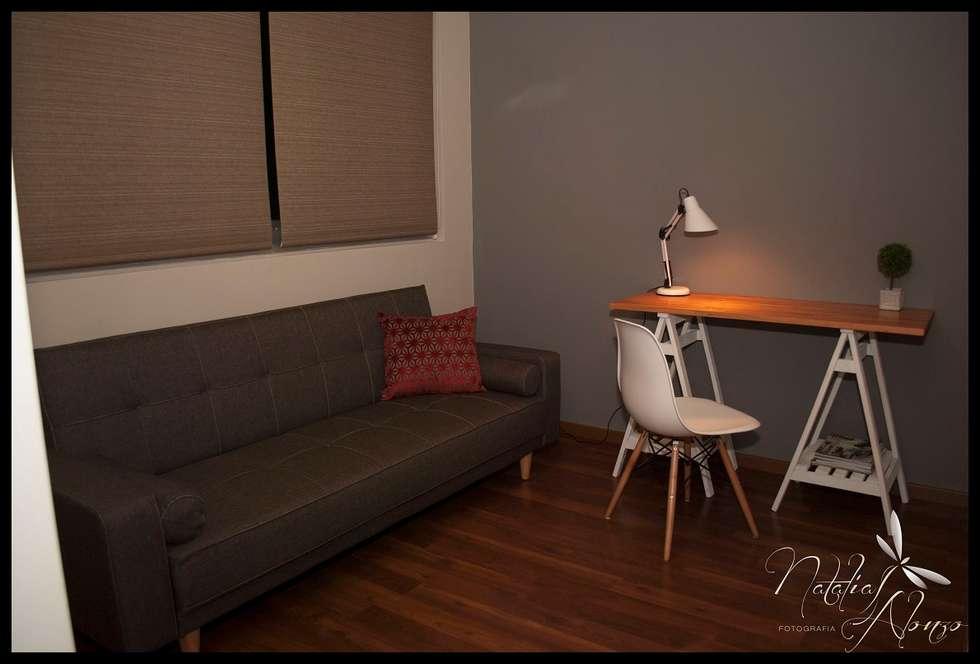 Segundo dormitorio invitacion al disfrute: Dormitorios de estilo ecléctico por Diseñadora Lucia Casanova