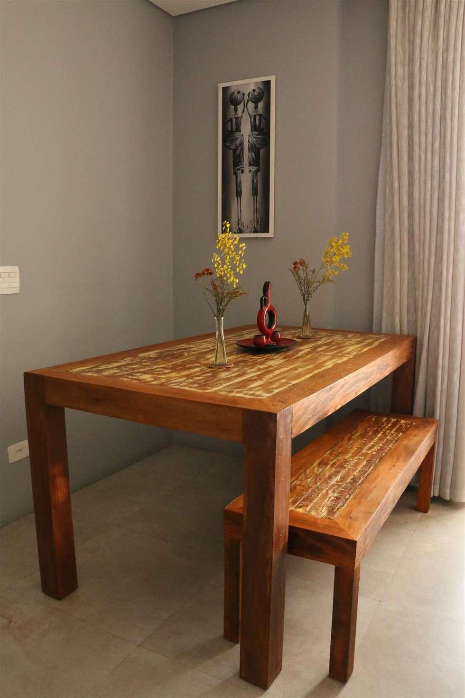 Fotos De Decora O Design De Interiores E Reformas Homify -> Casa Sala De Tv Sala De Jantar A Fazenda