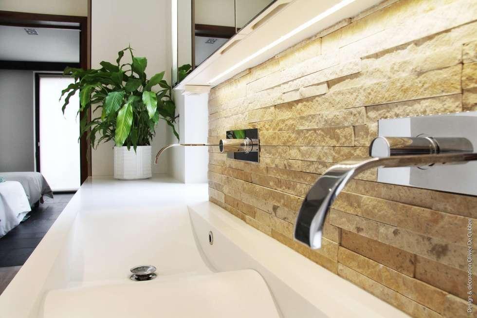 Modern bathroom photos by olivier de cubber - architecture d ...