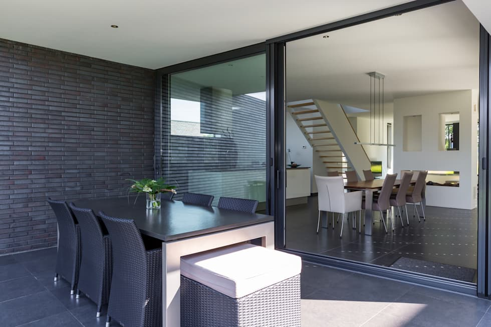 Woonhuis PMTJ Eindhoven : moderne Huizen door 2architecten