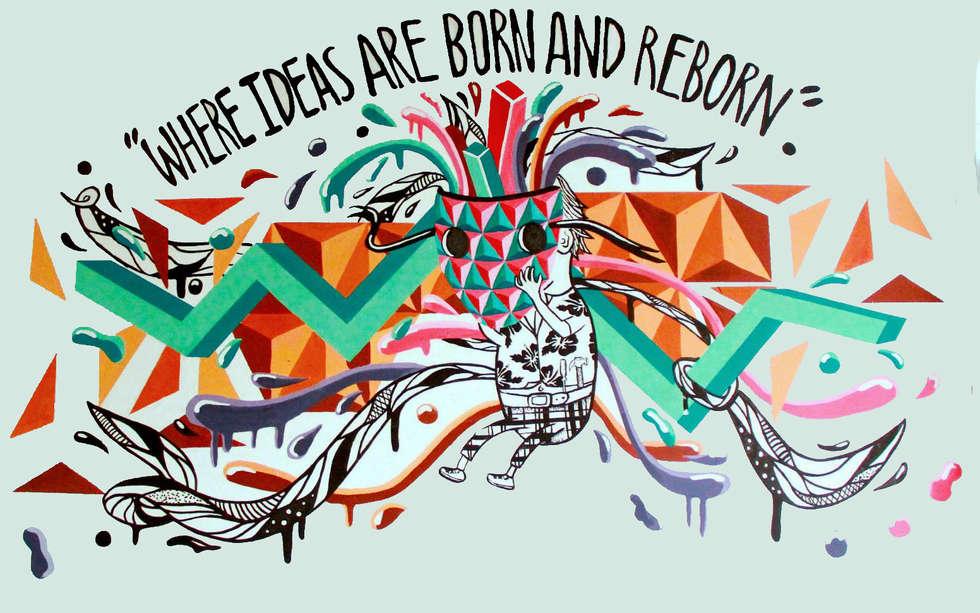 Where ideas born and reborn!: Casas de estilo minimalista por Phoenix Touch