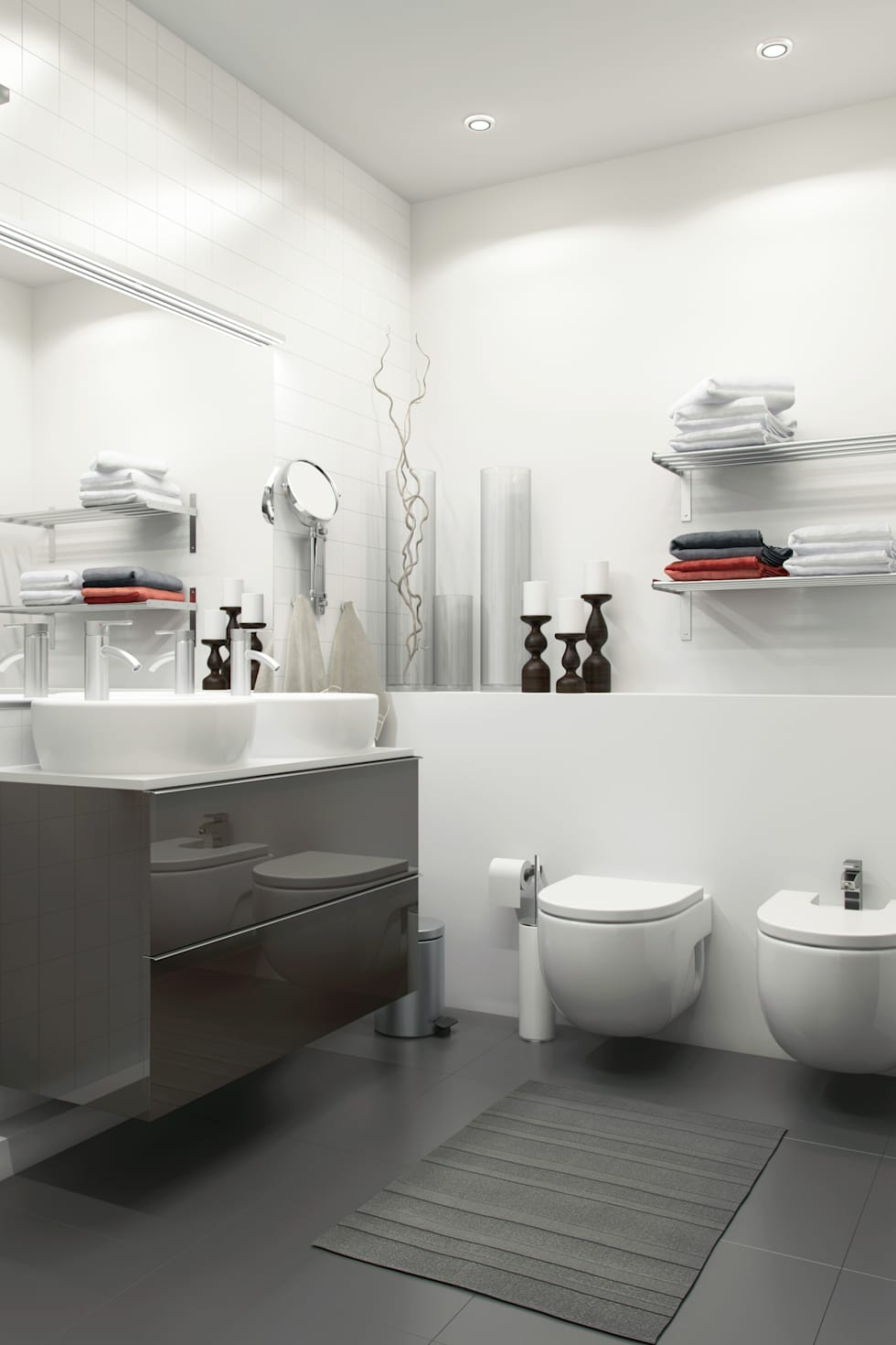 Fotos de decoraci n y dise o de interiores homify for Foto bagni moderni arredati