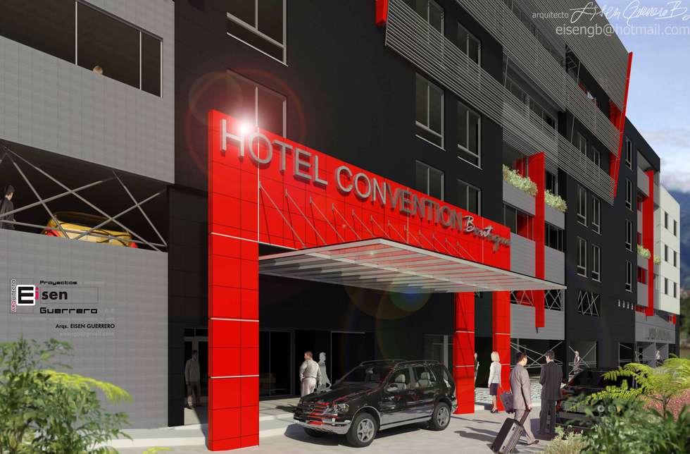 Hotel Covention Suites. 2013: Casas de estilo escandinavo por Eisen Arquitecto