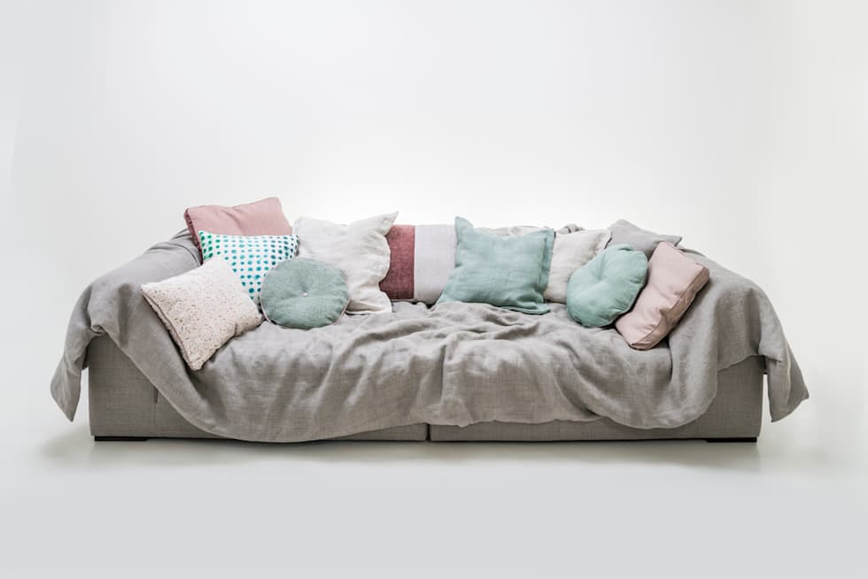 Perfekt Solid Wave U003e 4 Sitzer Mit Decke Und Dekokissen: Ausgefallene Wohnzimmer Von  Sophisticated Living