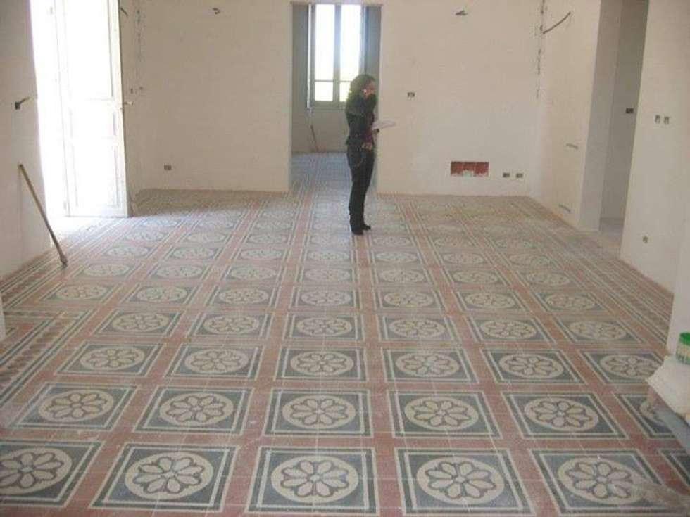 Idee arredamento casa interior design homify - Piastrelle in graniglia di cemento ...