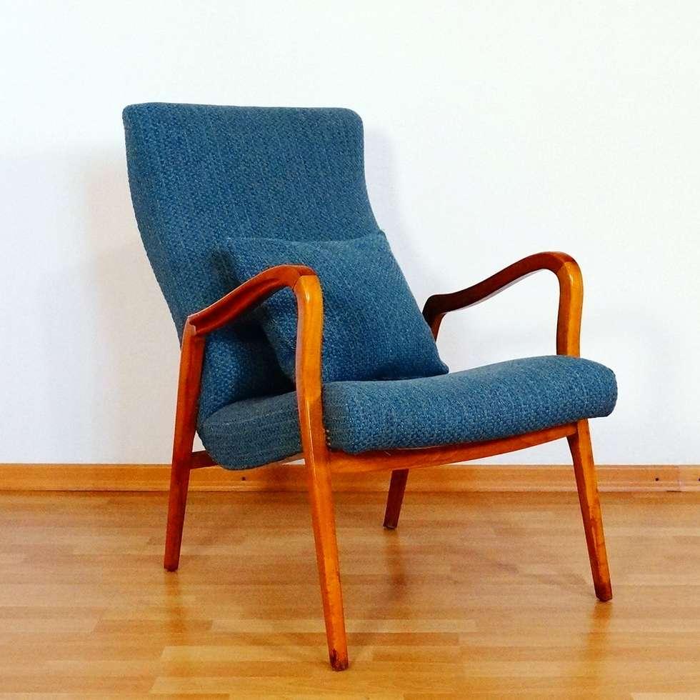 Moderne Wohnzimmer Bilder Hochlehner Kirschbaum Sessel Easychair