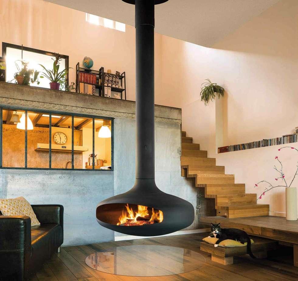 Focus design kamine: moderne wohnzimmer von chiemsee öfen | homify