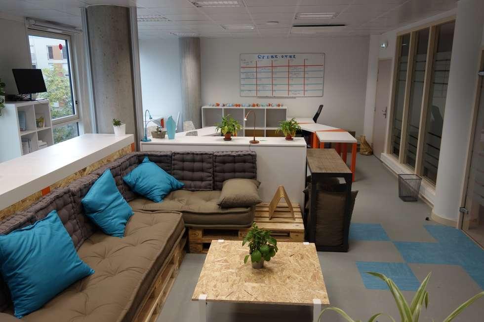 Id es de design d 39 int rieur et photos de r novation homify for Espace minimum de travail