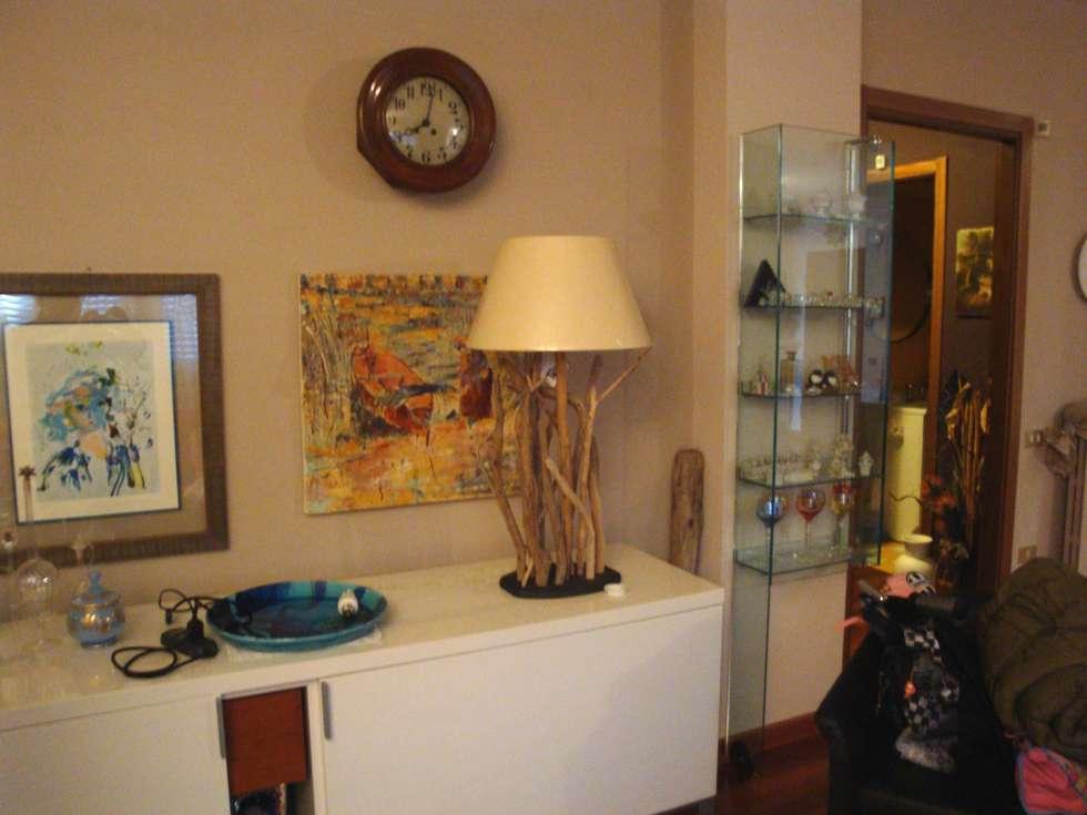 Lampade In Legno Di Mare : Lampada da tavolo realizzata con legno di mare annunci roma