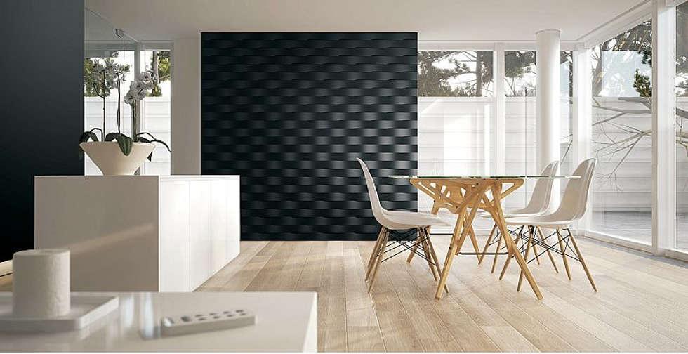 Salon de style de style Moderne par DecoMania.pl