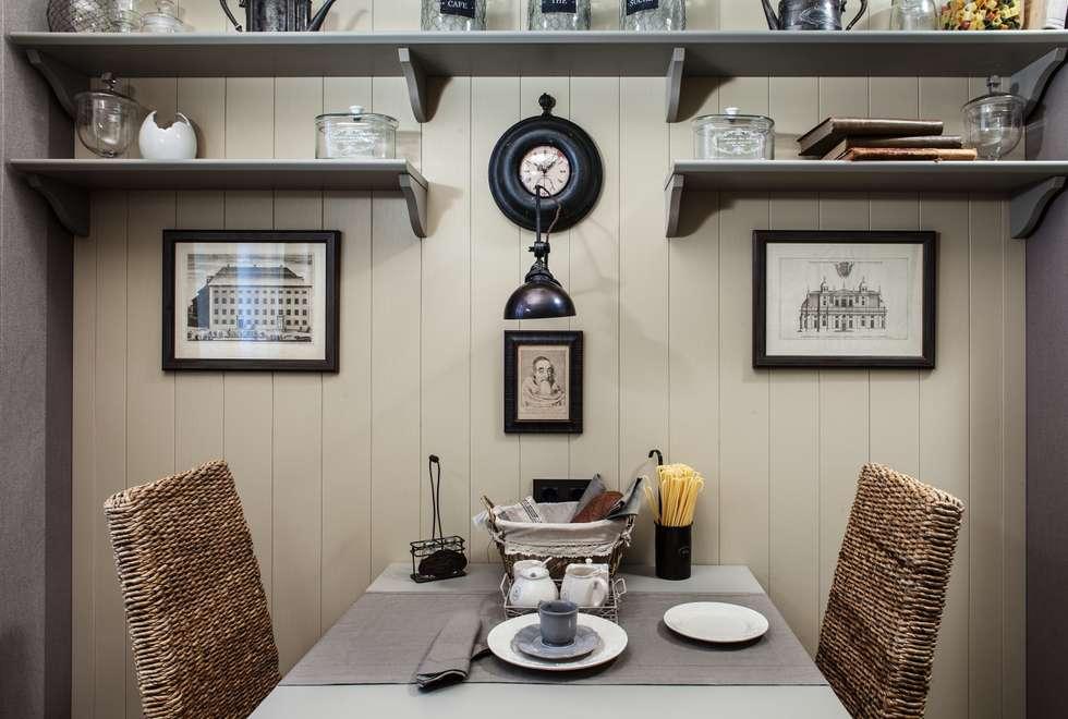 The apartment  in Moscow 02: Cuisine de style de style Classique par Petr Kozeykin Designs LLC, 'PS Pierreswatch'