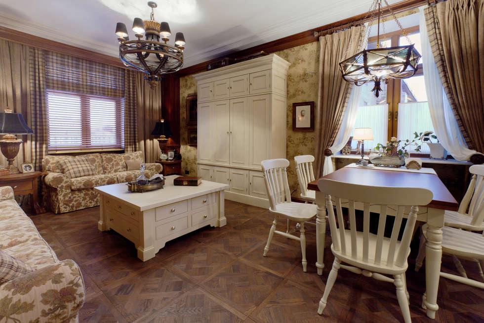 The apartment in Moscow 01: Salon de style de style Classique par Petr Kozeykin Designs LLC, 'PS Pierreswatch'